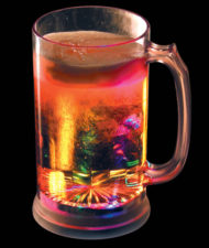 Flashing Beer Mug