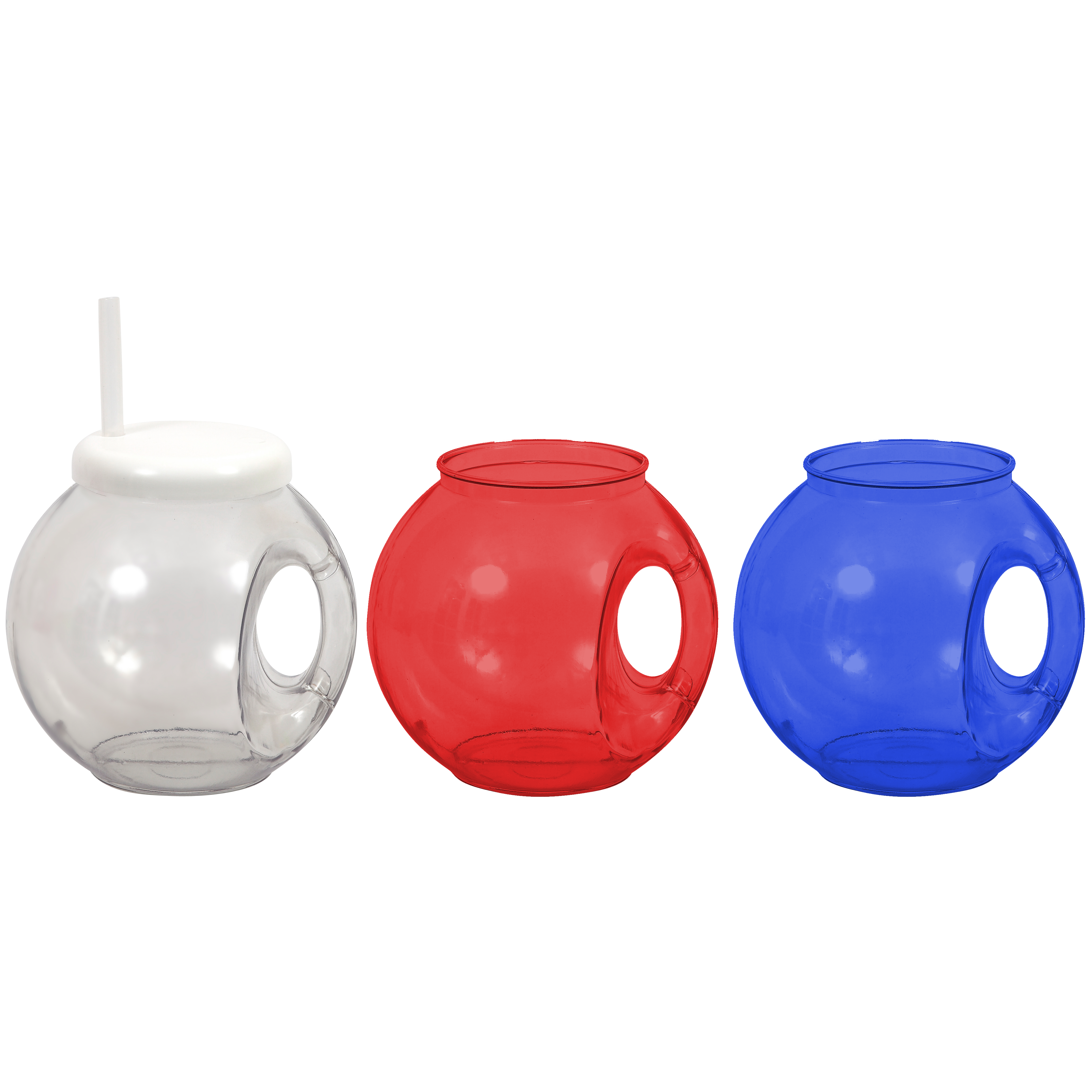 Handled Fish Bowl Cup Sippers By Design