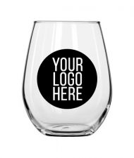 Stemless Glass Wine Cup