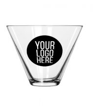 Stemless Glass Martini Cup