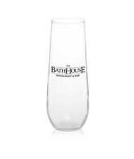 Stemless Glass Champagne Flute Cup